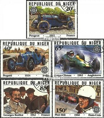 Niger 773-777 (complete issue) used 1981 grams. Price of France