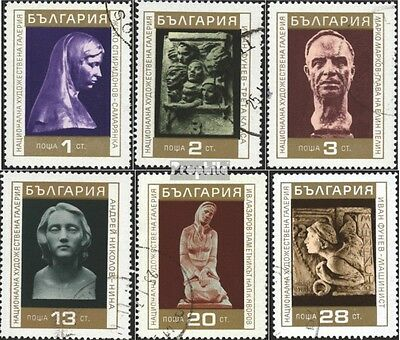 Bulgaria 2059-2064 (complete issue) used 1970 Sculptures out th