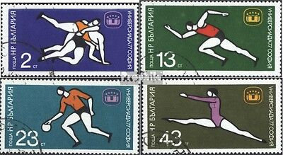 Bulgaria 2586-2589 (complete issue) used 1977 Universiade´77 in