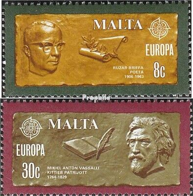 Malta 615-616 (complete issue) unmounted mint / never hinged 1980 Personalities