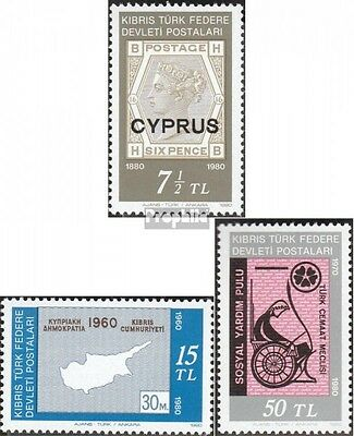 Turkish-Cyprus 90-92 (complete issue) unmounted mint / never hinged 1980 Anniver
