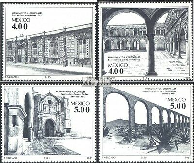 Mexico 1773-1776 (complete issue) unmounted mint / never hinged 1981 Building ou