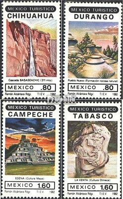 Mexico 1821-1824 (complete issue) unmounted mint / never hinged 1982 Tourism