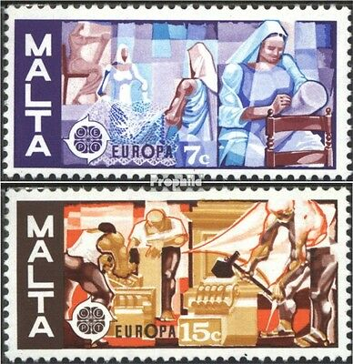 Malta 532-533 (complete issue) unmounted mint / never hinged 1976 Crafts