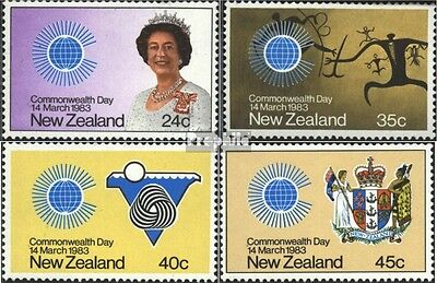 New Zealand 866-869 (complete issue) unmounted mint / never hinged 1983 Commonwe