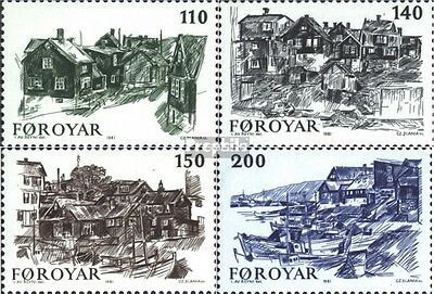Denmark-Faroe Islands 59-62 (complete issue) unmounted mint / never hinged 1981