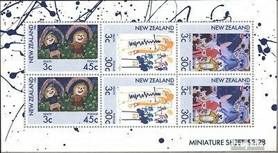 New Zealand 968-970 Sheetlet (complete issue) unmounted mint / never hinged 1986