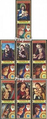 Equatorial-Guinea 173-179 (complete issue) used 1972 christmas: