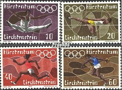 Liechtenstein 556-559 (complete issue) unmounted mint / never hinged 1972 Olympi