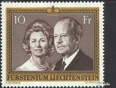 Liechtenstein 614 (complete issue) unmounted mint / never hinged 1974 Princely
