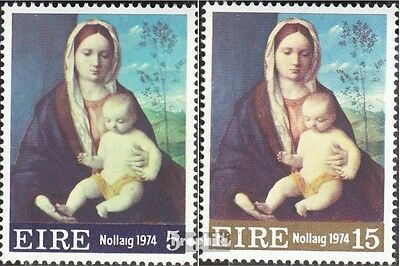 Ireland 311-312 (complete issue) unmounted mint / never hinged 1974 christmas