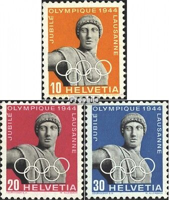 Switzerland 428x-430x (complete.issue) used 1944 Olympic Commit