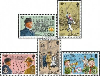 united kingdom-Jersey 288-292 (complete issue) unmounted mint / never hinged 198