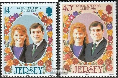 united kingdom-Jersey 386-387 (complete issue) unmounted mint / never hinged 198