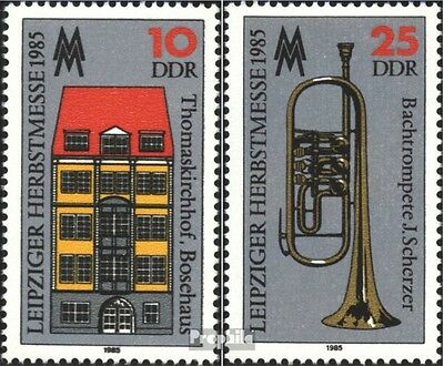 DDR 2963-2964 (complete.issue) unmounted mint / never hinged 1985 Autumn Fair