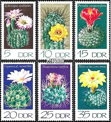DDR 1922-1927 (complete.issue) used 1974 Cacti