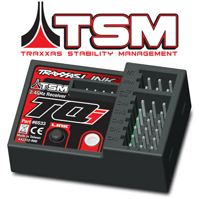 NEW Traxxas Stability Management TSM 2.4GHz 5-Ch Receiver 6533 - FREE SHIPPING