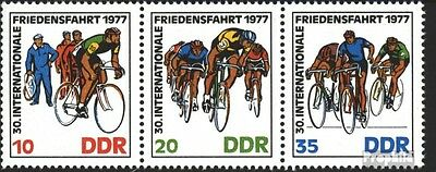DDR WZd346 (complete.issue) unmounted mint / never hinged 1977 Peace Race