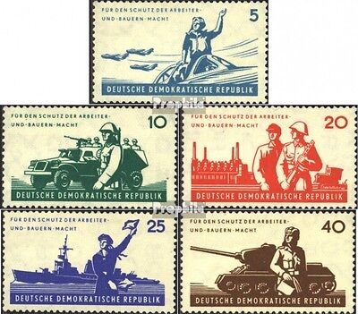 DDR 876-880 (complete.issue) used 1962 Peoples Army