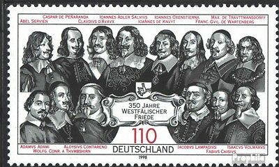 FRD (FR.Germany) 1979 (complete issue) unmounted mint / never hinged 1998 350 ye