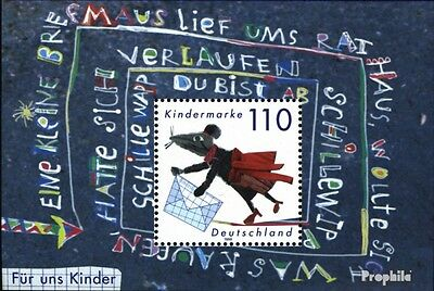 FRD (FR.Germany) block51 (complete issue) used 1999 kids block