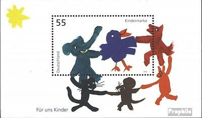 FRD (FR.Germany) block64 (complete issue) used 2003 for Childre