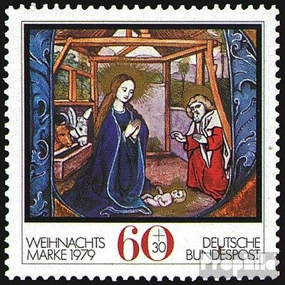 FRD (FR.Germany) 1032 (complete.issue) used 1979 christmas