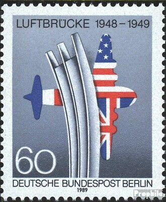 Berlin (West) 842 (complete.issue) used 1989 End the Blockade B