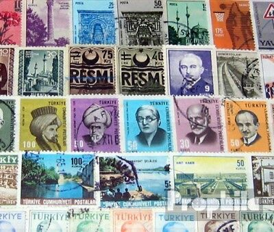 Turkey 200 different stamps