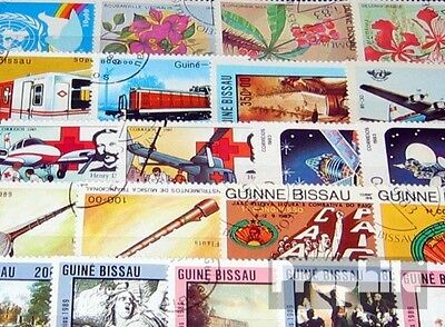 Guinea-Bissau 100 different special stamps