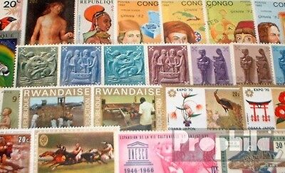 Belgium 50 different stamps  Belgian Colonies with independent states