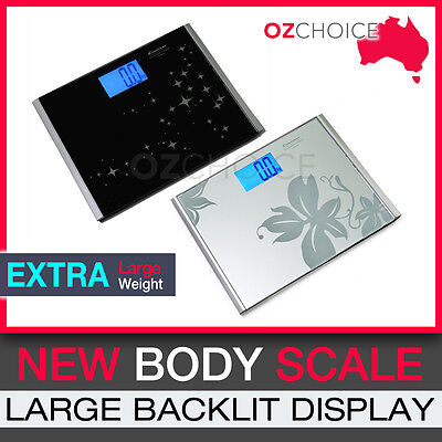 Digital Glass Body Scale Bathroom Weight Extra Large Weight Accurate Electronic