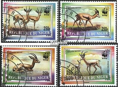 Niger 1460-1463 (complete issue) used 1998 Conservation: dorkas