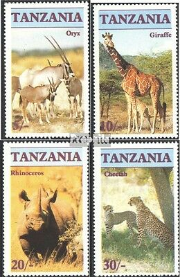 Tanzania 328-331 (complete issue) unmounted mint / never hinged 1986 Affected Wi