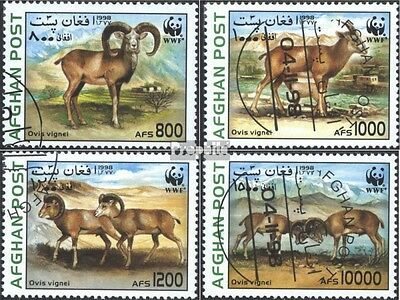Afghanistan 1819-1822 (complete issue) used 1998 WWF: steppe sh