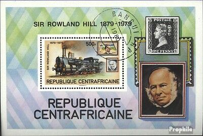 Central African republic. block70 (complete issue) used 1979 10