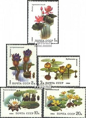 Soviet-Union 5381-5385 (complete issue) unmounted mint / never hinged 1984 Aquat