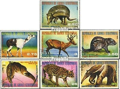 Equatorial-Guinea 1248-1254 (complete.issue) used 1977 South Am