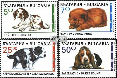Bulgaria 4265-4268 (complete issue) unmounted mint / never hinged 1997 Dog