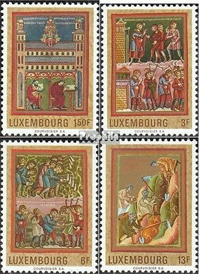 Luxembourg 820-823 (complete issue) unmounted mint / never hinged 1971 Medieval