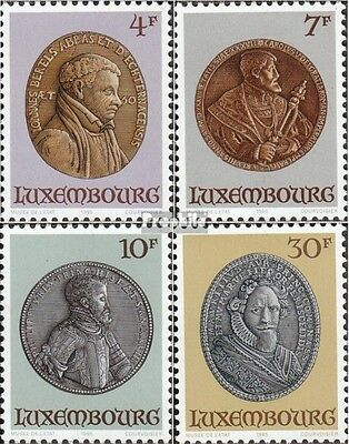 Luxembourg 1117-1120 (complete issue) unmounted mint / never hinged 1985 Medals