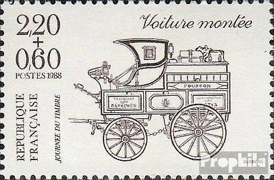 France 2662C B (complete issue) unmounted mint / never hinged 1988 Day the Stamp
