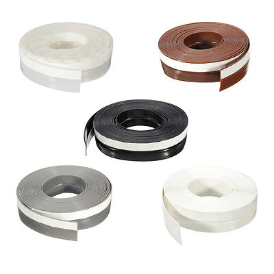 5M Self-adhesive Draught Excluder Strip Window Door Seal Tape Silicone Rubber