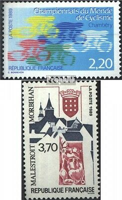 France 2721,2722 (complete issue) used 1989 special stamps