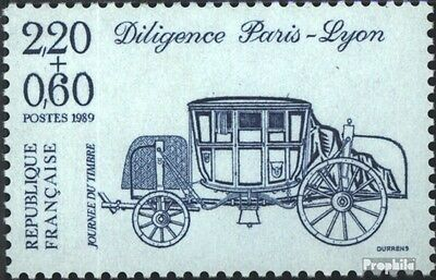 France 2709A A (complete issue) used 1989 Day the Stamp