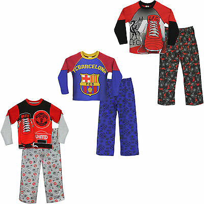 Football Club Pyjamas | Official FC PJs | Barcelona, Man United, Liverpool Pj's