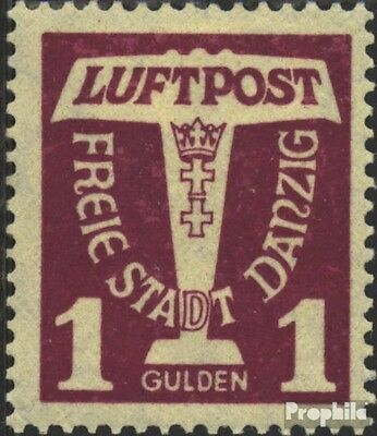 Gdansk 255 used 1935 Airmail