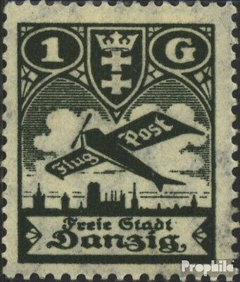 Gdansk 205 used 1924 Airmail