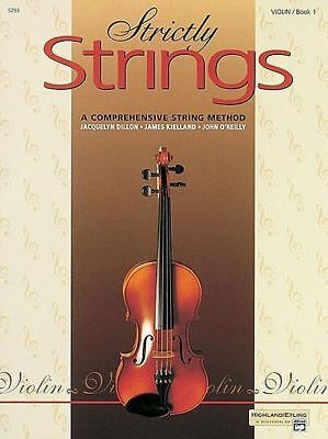 STRICTLY STRINGS - Violin Book 1 *NEW* Comprehensive String Method AMEB