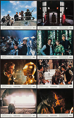 RETURN OF THE JEDI original 1983 glossy color lobby still set HARRISON FORD